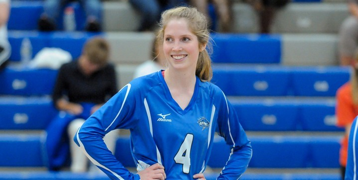 Big Blue escapes with 5-set triumph at Colby - University of